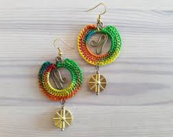 reggae earrings reggae earrings etsy