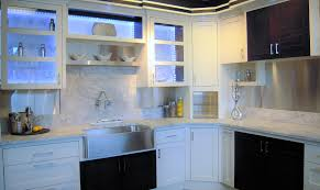 Kitchen Cabinet Doors With Glass Fronts by Affordable Custom Cabinets Showroom