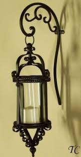 Antique Iron Sconces Wrought Iron Candle Lanterns Foter
