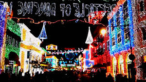 disney hollywood studios christmas lights 2013