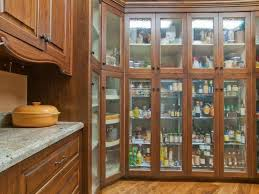 Hardwood Floors In Kitchens Traditional Pantry With Hardwood Floors U0026 Built In Bookshelf In