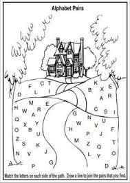 free alphabet worksheets or abc worksheets visual tracking ot