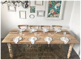 table rentals dc farm tables for weddings and events dc something vintage