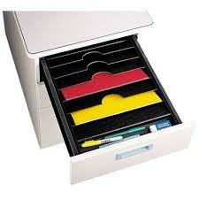 trieur papier bureau trieur 6 cases pour tiroir de bureau noir achat vente trieur