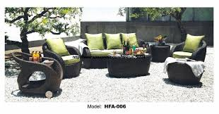 Rattan Settee Furniture Garden Sofa Furniture Picnic Dining Car Table Outdoor Healthy