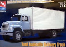 ford louisville cl 9000 hauler delivery truck 1 25 fs