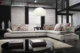 Kaine Modern Leather Sectional  Contemporary Family - Leather family room furniture
