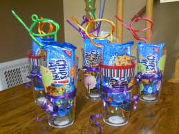 party favors ideas kids party favors great for a mik cookie themed party a cup a
