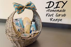 mothers day gift baskets diy foot scrub recipe s day gift baskets