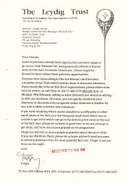Charity Letter For Raffle Prizes the ncropa archive 1996
