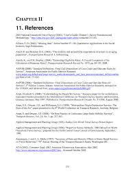 11 references technical appendix to nchrp report 571