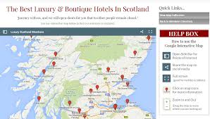 World Map Scotland by A Directory Of Best Luxury Hotels In Scotland Luxury Scotland