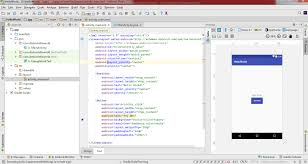 android studio button how to create an android app with android studio