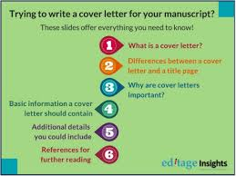 how to write a cover letter to submit a research paper quora