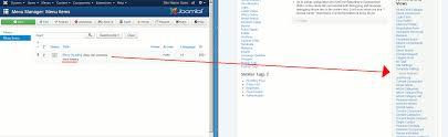 Joomla Hosting Title Joomla Menu Item Types Inmotion Hosting
