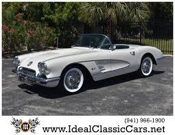 vintage corvette for sale used 1958 chevrolet corvette venice fl for sale in venice fl