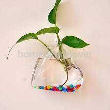 Hanging Glass Wall Vase Online Get Cheap Wall Hanging Glass Flower Vase Aliexpress Com