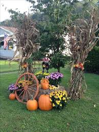 best 25 fall decorations for outside ideas on outside