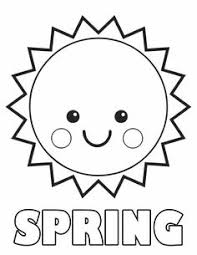 Art Enrichment Everyday April Activity Coloring Pages Spring