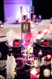 Elegant Centerpieces For Wedding by Centerpiece Glass Cylinders With Pink Gladiolas Elegant Look For