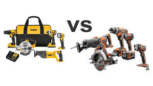 compound miter saw vs table saw rigid vs dewalt impact driver and table saw and drill and miter