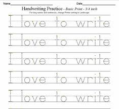 letter practice worksheets for kindergarten worksheets