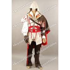 Ezio Halloween Costume Assassin U0027s Creed 2 Ii Ezio Cosplay Costume Custom
