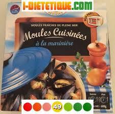 moules cuisin馥s moules cuisinées à la marinière pêcheries sétoises calories
