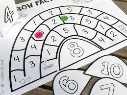 rainbow fact families board game liz u0027s early learning spot