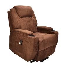 recliners chairs u0026 sofa brown reclining chair electric riva dual