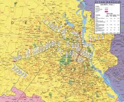 Map Of India Cities Delhi Map
