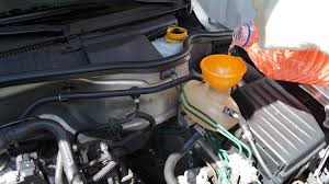 opel corsa flush and change the coolant youtube
