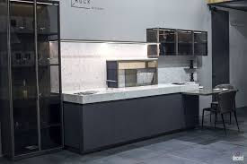 kitchen design with breakfast bar kitchen style shelf space gray cabinets open shelves single wall