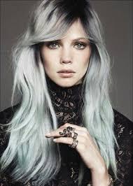 gray hair color trend 2015 10 best degrade de pelo images on pinterest colourful hair hair