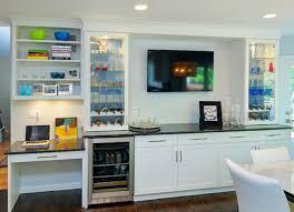 Kitchen Desk With Hutch Custom Hutch Desk Area