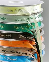 customized ribbon two create custom ribbons with a name or monogram
