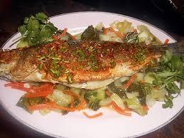 cuisine chinoise poisson recette de bar frit à la chinoise sauce au gingembre