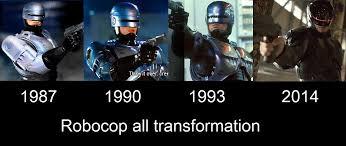 robocop electrocutes himself youtube robocop transformation in movies 1987 1990 1993 2014 youtube