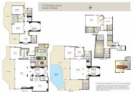 floor plans of mansions a hotr reader u0027s revised floor plans to a 17 000 square foot