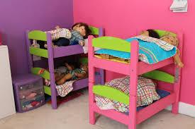 Mini Bunk Beds Ikea Furniture Terrific Shared Bedroom Decoration Using Pink