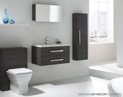 Aquatrend Designer Back To Wall Toilet Unit CVATFPSUMAV - Designer bathroom suites