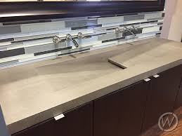 Double Faucet Trough Sinks Customcretewerks
