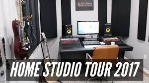 Small Music Studio Desk by Home Studio Tour 2017 Therecordingrevolution Com Youtube