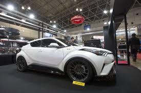toyota chr interior jdm aftermarket embraces the toyota c hr u2013 tokyo auto salon 2017