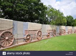wall pretoria the wagon laager wall at the voortrekker monument pretoria