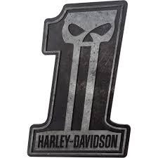 harley davidson 1 skull bar sign www kotulas com free shipping