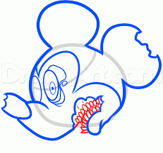 draw zombie mickey mouse step step zombies monsters