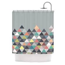 Kess Shower Curtains Nordic Combination Shower Curtain By Mareike Boehmer Kess Inhouse