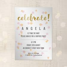 party invitation customisable a5 indesign template