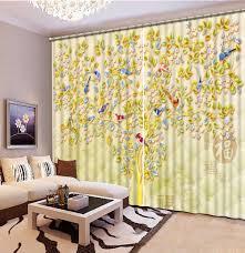 online get cheap luxury livingroom curtains aliexpress com european style curtains custom 3d curtains the magpie branches 3d window luxury curtains livingroom modern